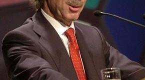 Retrato desenfadado de Aznar a cargo de M. A. Rodríguez