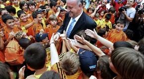 """Vicente del Bosque, artífice del éxito: """"Sólo soy un técnico de fútbol"""""""