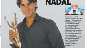 """Rafa Nadal, """"le tennis, c'est moi"""", campeón mundial de los campeones en 2010"""