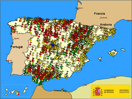 mapa de fosas comunes