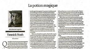 Yannick Noah, otra muestra más del chauvinismo francés