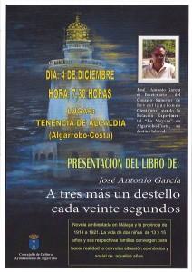 CARTEL libro Jos+® Antonio Garc+¡a