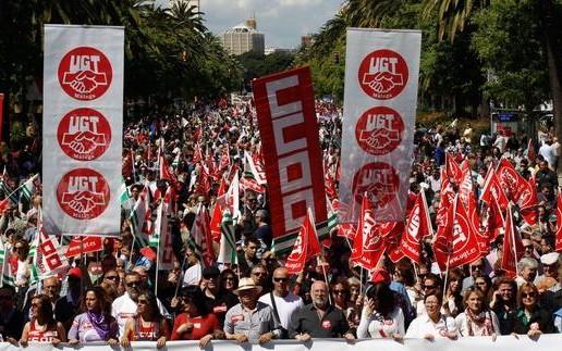 Crisis sindical