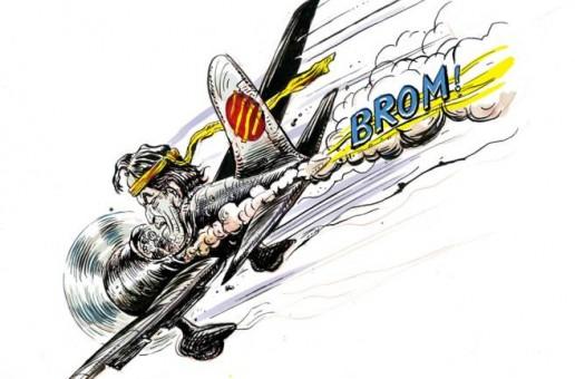 La escisión catalana en viñetas