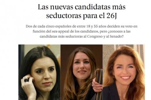 Sexismo en política