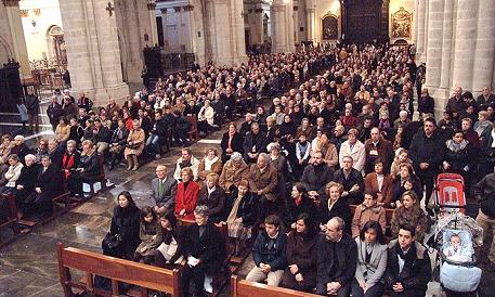 Cristianos de Misa