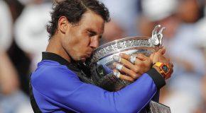 Con el 10º Roland Garros, Nadal se instala en el Olimpo